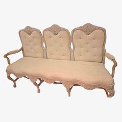 Swedish Rococo Sofa, 18th Century