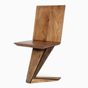 Chaise EMC Wood Chair en Bois par Enrico Marone Cinzano