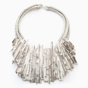 Ridged Cityscape Necklace by Tabor & Villalobos