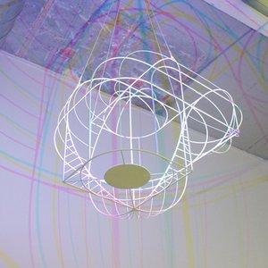 Lampada grande CMYK di Dennis Parren