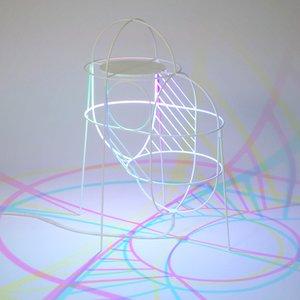 Lámpara CMYK Up de Dennis Parren