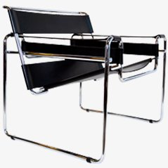 Wassily' Chair, Model No. B3, Marcel Breuer