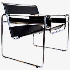 Wassily' Stuhl, Model No.B3 von Marcel Breuer