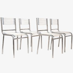 Four 'Sandows Chairs' by René Herbst