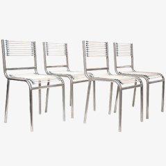Vier 'Sandows Stühle' von René Herbst