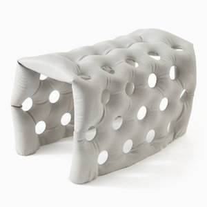 Soft Concrete U-Bench Bank von Remy & Veenhuizen