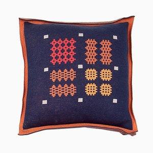 Großes Kissen mit geometrischem Muster von Roberta Licini
