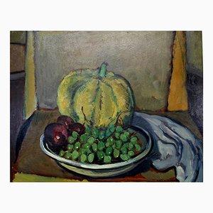 Still Life, Oil on Table
