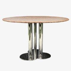 Tavolo da pranzo Trifoglio vintage di Sergio Astri per Poltronova
