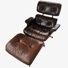Lounge Stuhl und Ottoman Set von Charles & Ray Eames für Herman Miller, 1970er