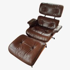 Lounge Chair and Ottoman by Charles & Ray Eames