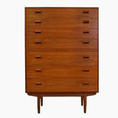 Teak High Dresser by Børge Mogensen for Søborg Møbler, 1951