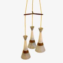 Lámpara colgante de Fog & Mørup, años 60