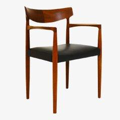 Chaise de Bureau Mid-Century par Knud Færch pour Slagelse Møbelværk, 1960s