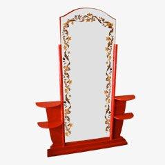 Vintage Cheval Mirror by J. Leleu & R. Pansar