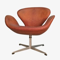 Swan Chair by Arne Jacobsen for Fritz Hansen, 1960