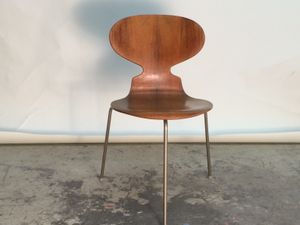 Rosewood Ant Chair by Arne Jacobsen for Fritz Hansen