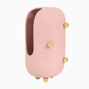 Jarrón Anfore pequeño en rosa de Zpstudio