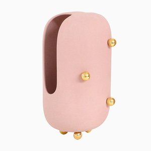 Small Anfore Vase in Pink by Zpstudio
