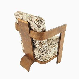 Art Deco Style Armchair, 1940s