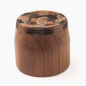 CAD Weaving Jar #1 aus Nussholz von Dafi Reis Doron