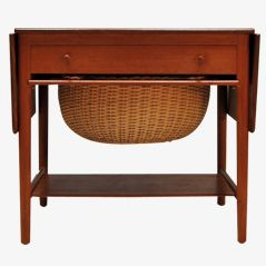 AT33 Sewing Table by Hans Wegner for A. Tuck, 1955
