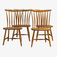 Dining Chairs by Åkerblomstolen, Set of 4