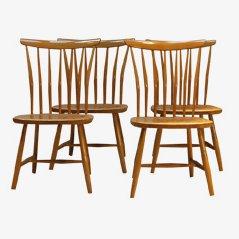Esszimmerstühle von Åkerblomstolen, 4er Set