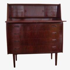 Vintage Schreibtisch aus Palisanderholz