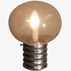 Glühbirne' Tischlampe aus den 1970ern
