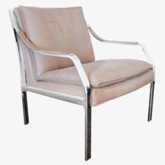 Leather Easy Chair by Rudolf B. Glatzel for Knoll