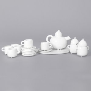 Haphazard Harmony Tea Set by Maarten Baas