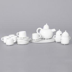 Servizio da tè Haphazard Harmony di Maarten Baas