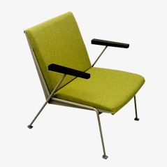 Green Oase Chair by Wim Rietveld for Ahrend de Cirkel, 1958
