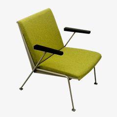 Grüner Oase Chair von Wim Rietveld für Ahrend de Cirkel, 1958