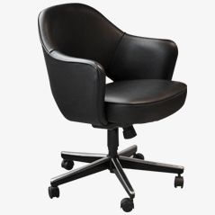 Leather Executive Chair by Eero Saarinen for Knoll