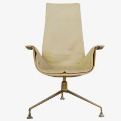 FK Tulip Chair by Preben Fabricius & Jörgen Kastholm for Kill International, 1950s
