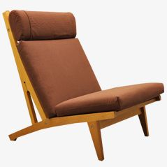 GE 375 Lounge Chair by Hans J. Wegner for Getama, 1970s