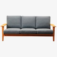 Three Seater Sofa by Hans J. Wegner for Getama