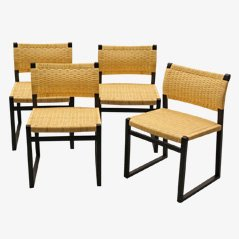 BM61 Chairs by Borge Mogensen for Fredericia Stolefabrik, Set of 4