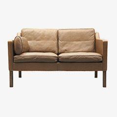 BM 2422 Two-Seater Sofa by Børge Mogensen for Fredericia Stolefabrik, 1983