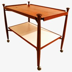 Teak Serving Trolley from Bovenkamp