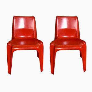 Vintage BA1171 Stühle von Helmut Bätzner für Bofinger, 2er Set