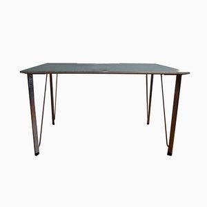 Tavolo da pranzo vintage di Arne Jacobsen per Fritz Hansen, Danimarca