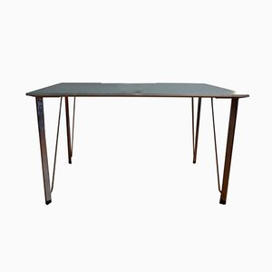 Vintage Danish Dining Table by Arne Jacobsen for Fritz Hansen
