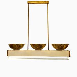 Lámpara de techo vintage de Pietro Chiesa para Fontana Arte