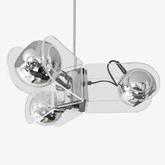 Model 504 Pendant Light by Gino Sarfatti for Arteluce, 1968