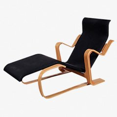 Birch and Plywood Easy Chair by Marcel Breuer for Gavina, 1970s