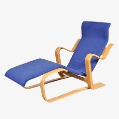 Birch Lounge Chair by Marcel Breuer for Gavina