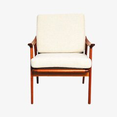 Teak Lounge Chair by Fredrik Kayser for Vatne Mobler, 1960s